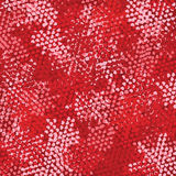 Bright love red heart seamless background pattern Stock Photo