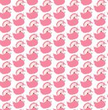 Bright lovely cute fairy magical colorful unicorns pattern vector illustration Stock Photos