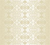 Bright luxury vintage wallpaper royalty free illustration