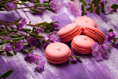 Bright macaroons Royalty Free Stock Photo