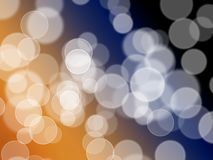 Bright magic color bokeh Royalty Free Stock Photos