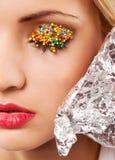 Bright Makeup Stock Photography