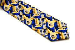 Bright man's tie Royalty Free Stock Images