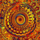 Bright Mandala Stock Images