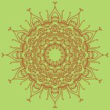 Bright mandala element for your own design stock illustration