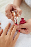 Bright manicure Royalty Free Stock Photography