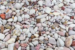 Bright many stone background. In garden Royalty Free Stock Photos