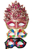 Bright masquerade masks Stock Images