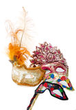 Bright masquerade masks Stock Photos