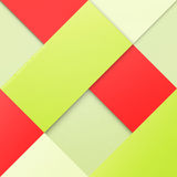 Bright material. Abstract, colorful background with square frames. vector geometric, fashion wallpaper template. material design backdrop. origami style, vector Stock Illustration