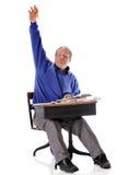Bright Mature Student Stock Image