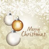 Bright merry christmas card. Vector illustration design Royalty Free Stock Photography