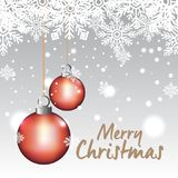 Bright merry christmas card. Vector illustration design Royalty Free Stock Images