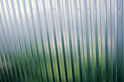 Bright metal fence closeup texture Stock Image