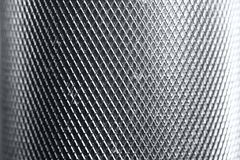 Bright metal texture. With diamond pattern stock images