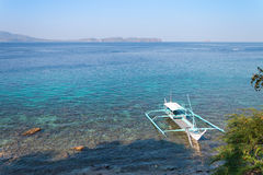 Bright midday in Batangas Philippines. Royalty Free Stock Photography