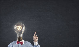 Bright mind Royalty Free Stock Photography