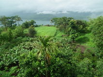 Bright monsoon landscape Royalty Free Stock Photography