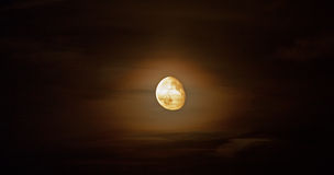 Bright moon Royalty Free Stock Image