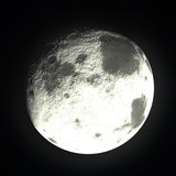 Bright Moon. Planet, nature and galaxi Stock Photo