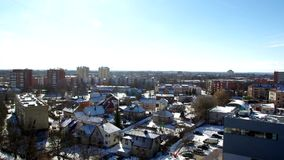 Bright morning in Kaunas. Video of Bright morning in Kaunas stock footage