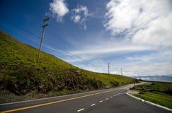 Bright morning on Saddle Highway, Big Island Stock Photography