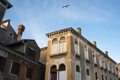 Bright morning in Venice Stock Images