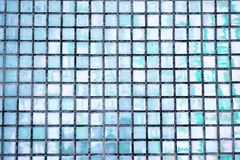 Bright mosaic background. Holografic texture. Bright mosaic background. Multicolor holografic texture close up. Holografic squares Royalty Free Stock Photography