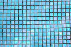 Bright mosaic background. Holografic texture. Bright mosaic background. Multicolor holografic texture close up. Holografic squares Royalty Free Stock Images