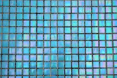 Bright mosaic background. Holografic texture. Bright mosaic background. Multicolor holografic texture close up. Holografic squares Stock Images