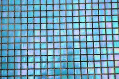 Bright mosaic background. Holografic texture. Bright mosaic background. Multicolor holografic texture close up. Holografic squares Stock Photo