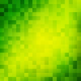 Bright mosaic gradient background. Yellow diagonal band on the green . Vector illustration for greeting cards and posters about ecology and environment. It Stock Photography
