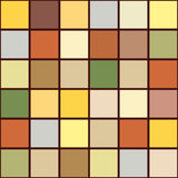Bright mosaic seamless pattern background square tiles Stock Images