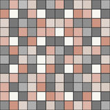 Bright mosaic seamless pattern background square tiles Royalty Free Stock Photography
