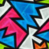 Bright mosaic seamless pattern Royalty Free Stock Photo