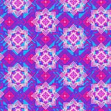 Bright mosaic seamless pattern Stock Images