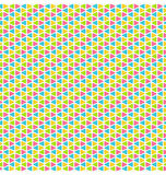 Bright mosaic seamless pattern Royalty Free Stock Photos