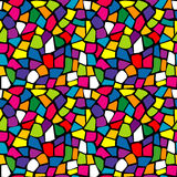 Bright mosaic texture. Colorful bright mosaic texture seamless Stock Photos