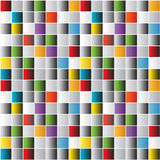 Bright mosaic tiles background. Abstract colorful bright mosaic tiles background royalty free illustration