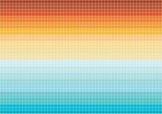 Bright mosaic tiles wallpaper. Colorful illustration of bright mosaic tiles royalty free illustration