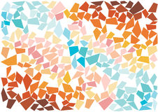 Bright mosaic tiles wallpaper Royalty Free Stock Images