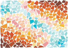 Bright mosaic tiles wallpaper Stock Photography