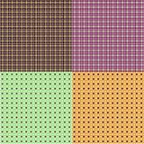 Bright mosaic tiles wallpaper Stock Images