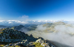 Bright mountain landscape in the Alps Royalty Free Stock Photography