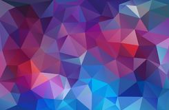 Bright mulicolor triangle mosaic background. Bright mulicolor mosaic background with triangle shapes Royalty Free Stock Images