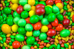 Bright multi-colored candy Stock Photos