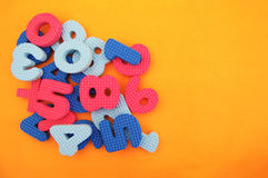 Bright multi-colored figures Royalty Free Stock Photos