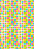 Bright multicolor geometric mosaic seamless pattern Royalty Free Stock Images