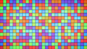Bright multicolor tiles glass mosaic background Stock Photography