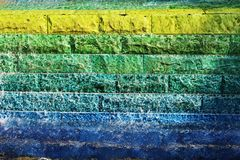 Bright multicolored background. Stock Photography